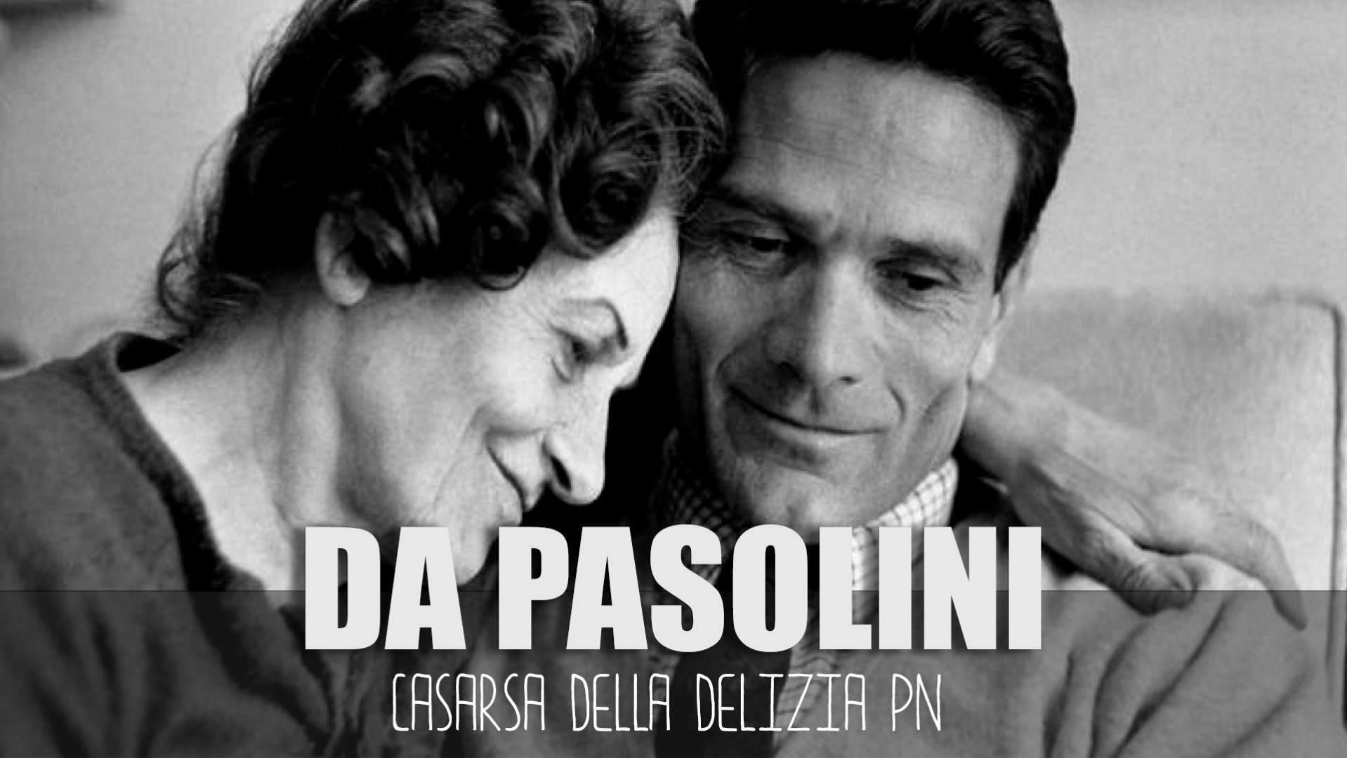 """Puntata """"Tomba e Casa Natale di Pierpaolo Pasolini a Casarsa della Delizia PN"""" del canale YouTube di Le Puntine del Mondo"""