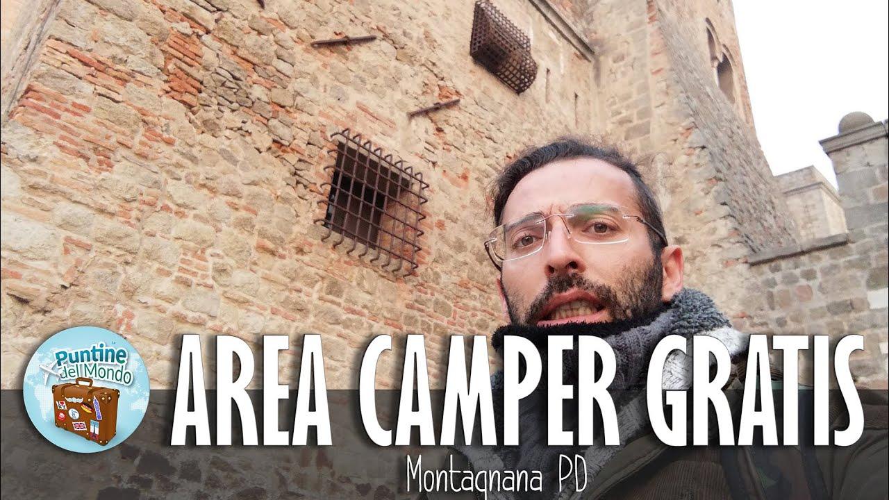Castello di San Zeno ed Area Camper gratuita - Montagnana PD