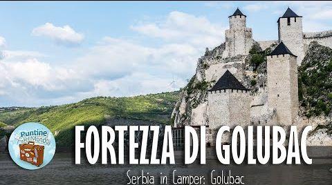 Fortezza di Golubac in Camper Serbia