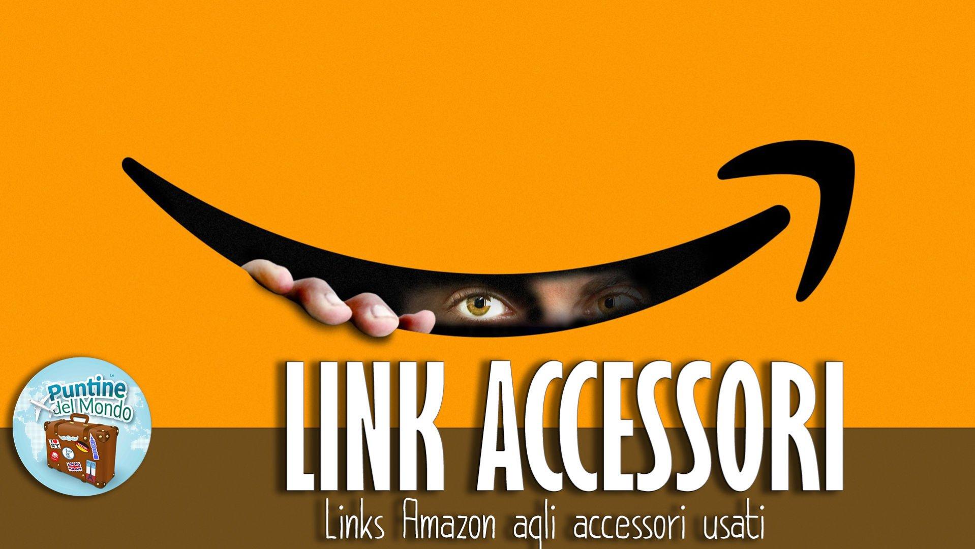 Link accessori Amazon di Le Puntine del Mondo