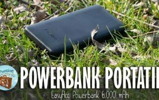 Recensione prova test powerbank power bank easyacc 6000 mah 6000mah portatile (9)