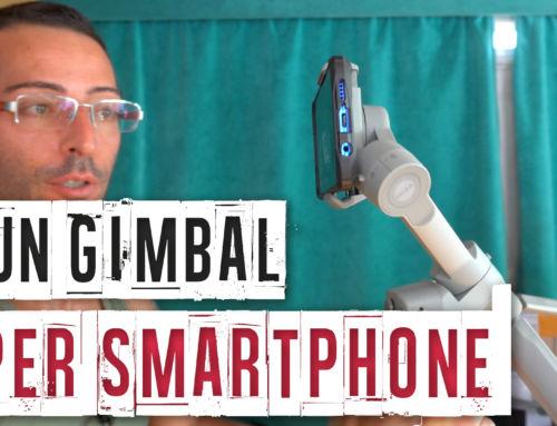 Gimbal (stabilizzatore) professionale per Smartphone Moza Mini MX