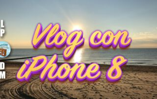 Girare video vlog su youtube con telefono smartphone iphone 8