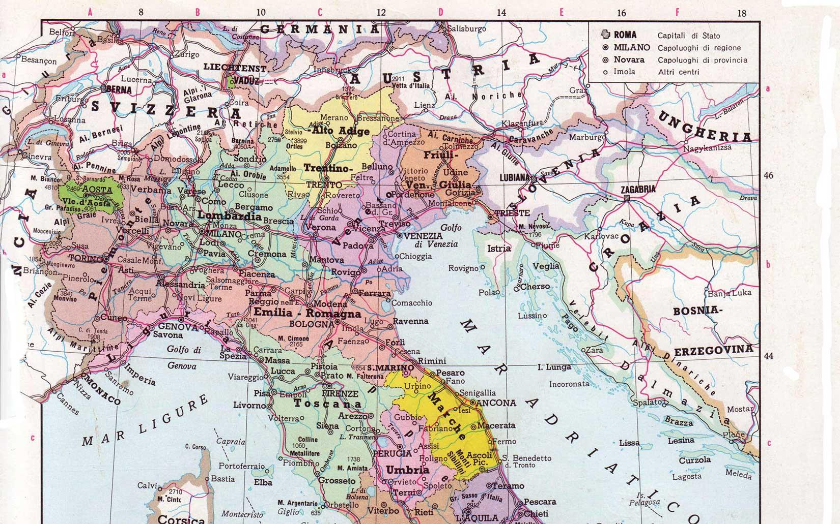 Cartina Lombardia Laghi.Abreviere Turbină Blam Cartina Italia Fiumi E Laghi Amazon Mariacastrojato Com