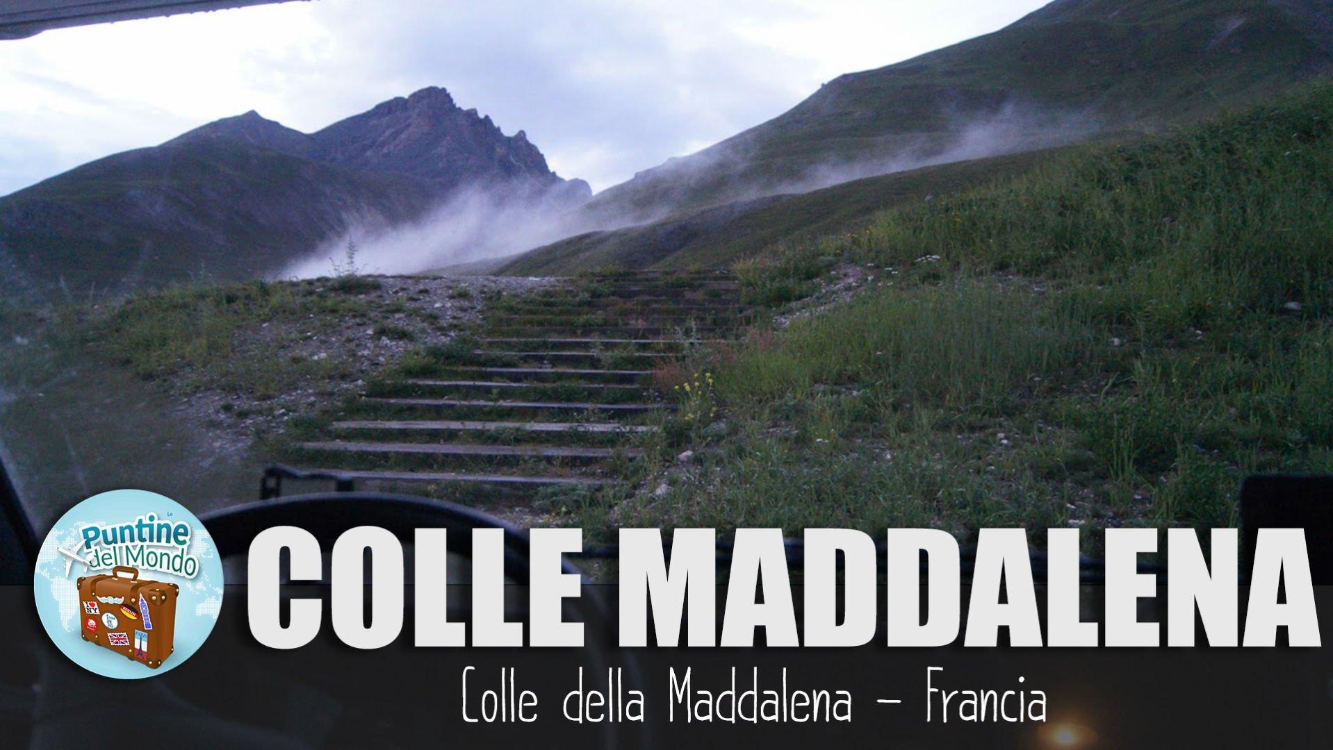 Colle de Larche Passo della Maddalena Francia Italia Piemonte in Camper
