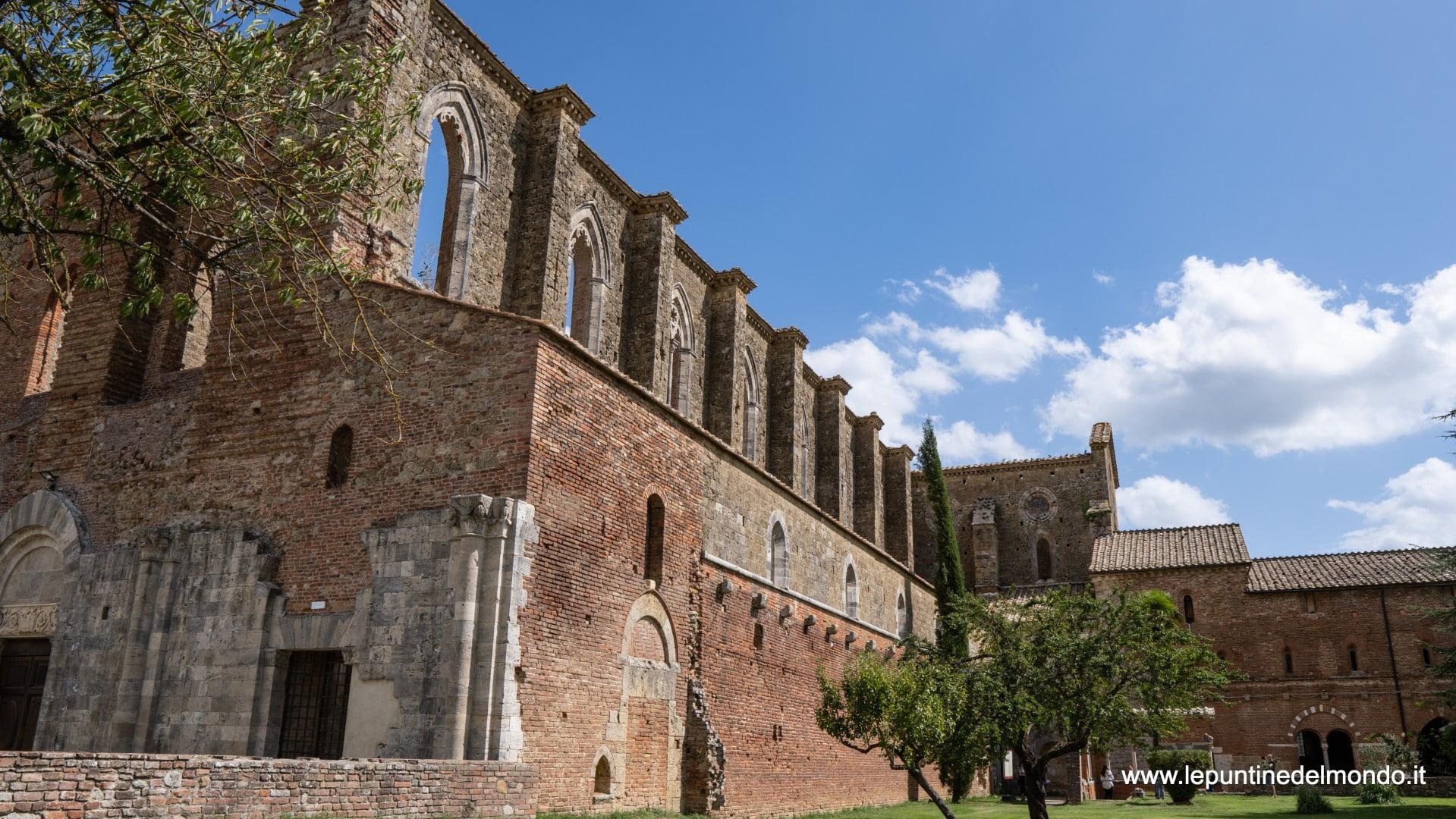 La Spada nella Roccia Abbazia di San Galgano Chiusdino SI Siena Toscana Italy
